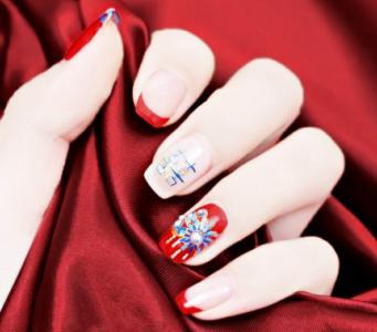 中式秀禾服汉服红色法式婚甲